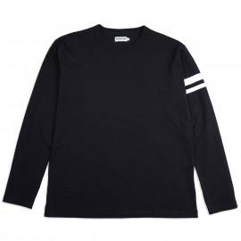 Лонгслив Momotaro Jeans MT-001 Long Sleeve T-shirts Black