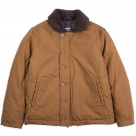 Куртка — пуховик Momotaro Jeans x Zanter Jacket Down N1 — Brown