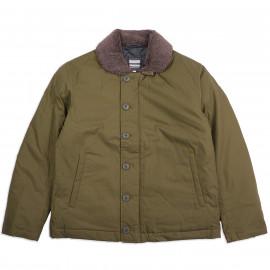 Куртка — пуховик Momotaro Jeans x Zanter Jacket Down N1 — OD Green