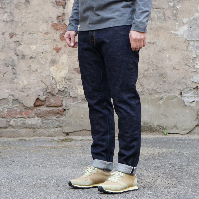 Джинсы Japan Blue Jeans J201 Tapered 14.8 oz American Cotton Vintage Selvage Zipper