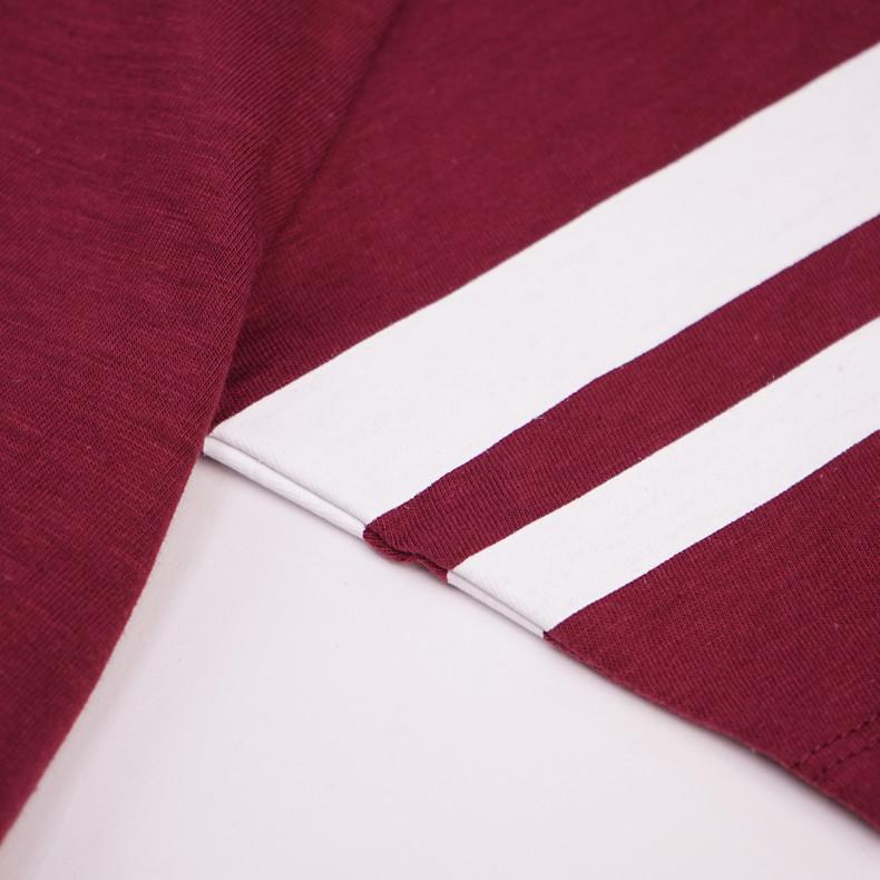 Футболка Momotaro Jeans s/s MT-302 GTB T-shirts Burgundy
