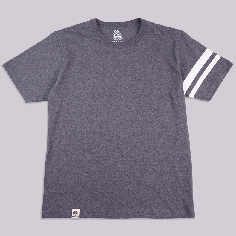 Футболка Momotaro Jeans s/s MT-302 GTB T-shirts Dark Grey