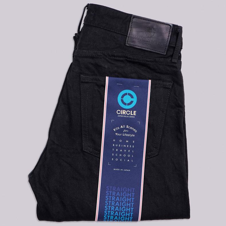 Джинсы Japan Blue Jeans JB J316 Straight 14oz Zimbabwe x Australian Cotton Black Selvedge One Wash