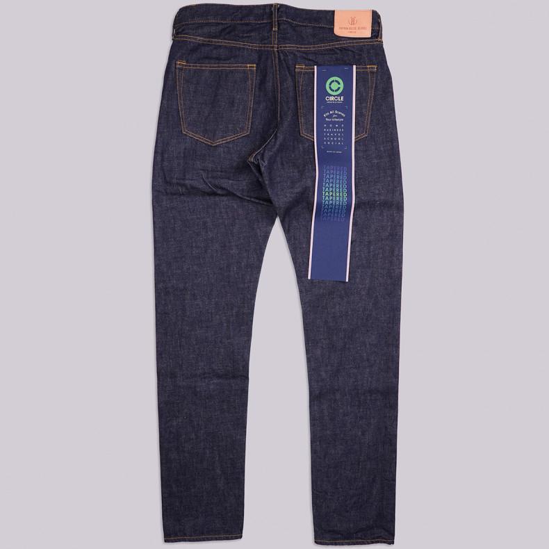 Джинсы Japan Blue Jeans J204 12.5oz Tapered 12.5oz African Cotton Indigo Selvedge One Wash