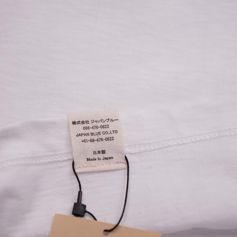Футболка Momotaro Jeans s/s MT-302 GTB T-shirts White