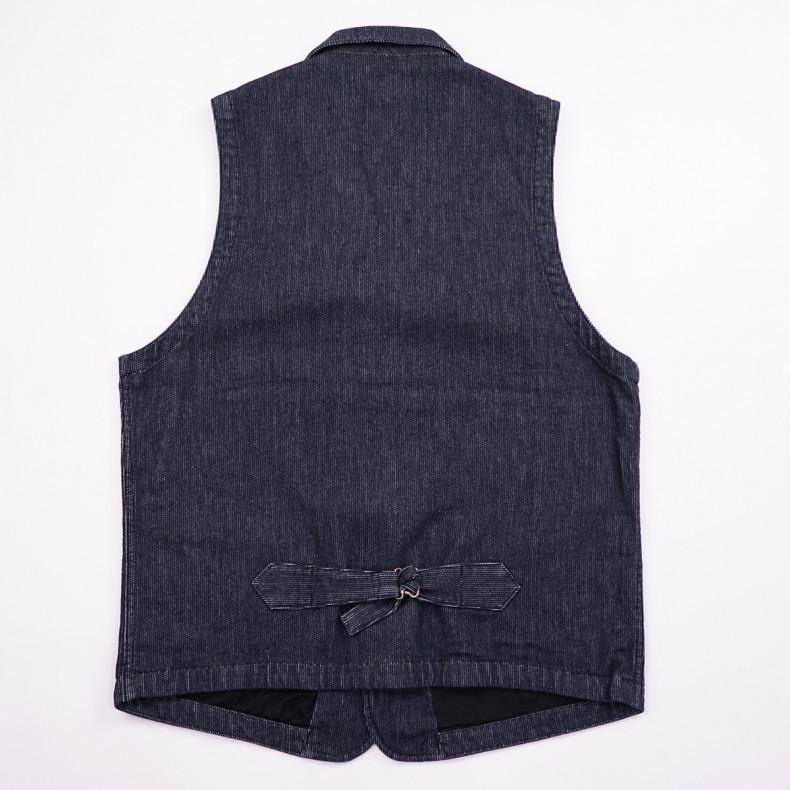 Жилет Momotaro Jeans 04-055 Indigo Pique Vest