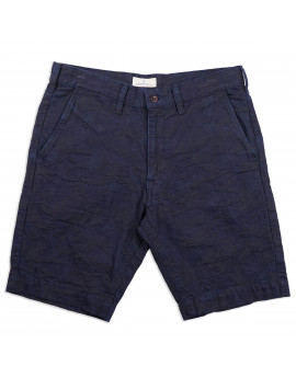 Шорты Japan Blue Jeans Jacquard Camo Chino Short Indigo
