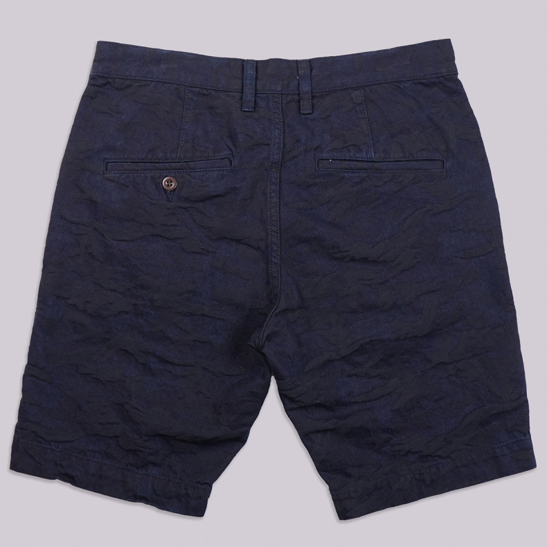 Шорты Japan Blue Jeans Jacquard Camo Chino Short Indigo