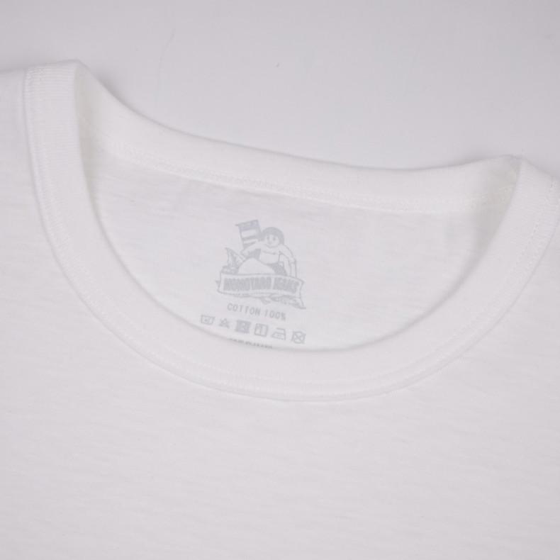 Футболка Momotaro Jeans 07-035 GTB Denim Pocket T-shirt White