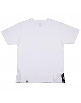 Футболка Momotaro Jeans 07-065 Side Change T-Shirt Pocket White