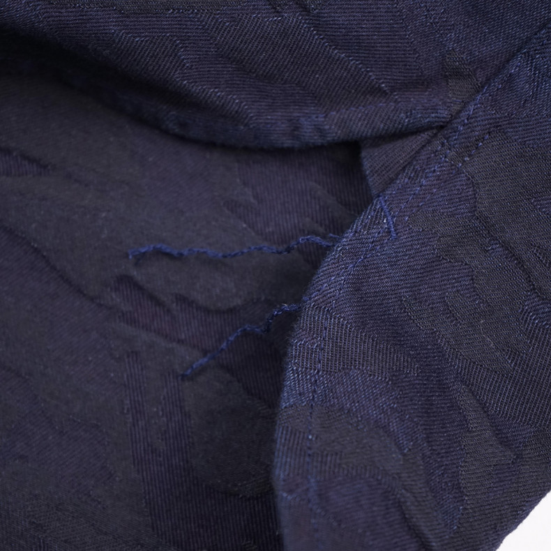 Рубашка Japan Blue Jeans J3530J01 Camo Jacquard shirt Indigo JBSH