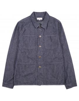 Пиджак Japan Blue Jeans J7024J01 Coveralls Dobby Stripe Denim Indigo