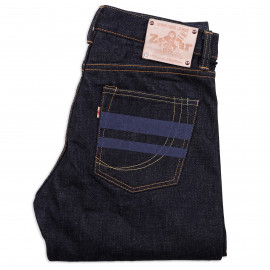 Джинсы Momotaro Jeans x Zefear ZnM001 Regular Slim Tapered 18 Oz Selvedge One Wash