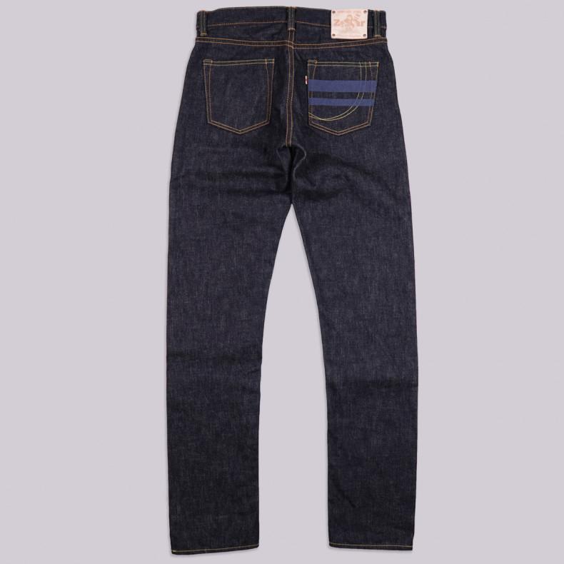 Джинсы Momotaro Jeans x Zefear ZnM001 Regular Slim Tapered 18 Oz Selvedge One Wash