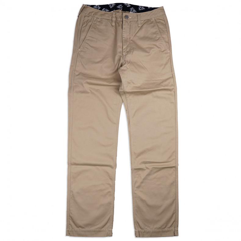 Брюки Momotaro Jeans 4160SP High Count Trousers Khaki