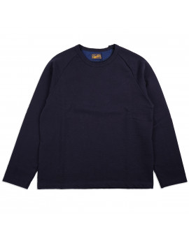 Толстовка Japan Blue Jeans J6740J01 Long-sleeved Raglan T-shirt Hard Inlay Navy