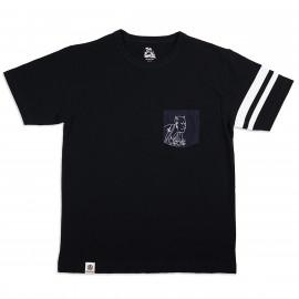 Футболка Momotaro Jeans07-086-O Syaraku ONI Black