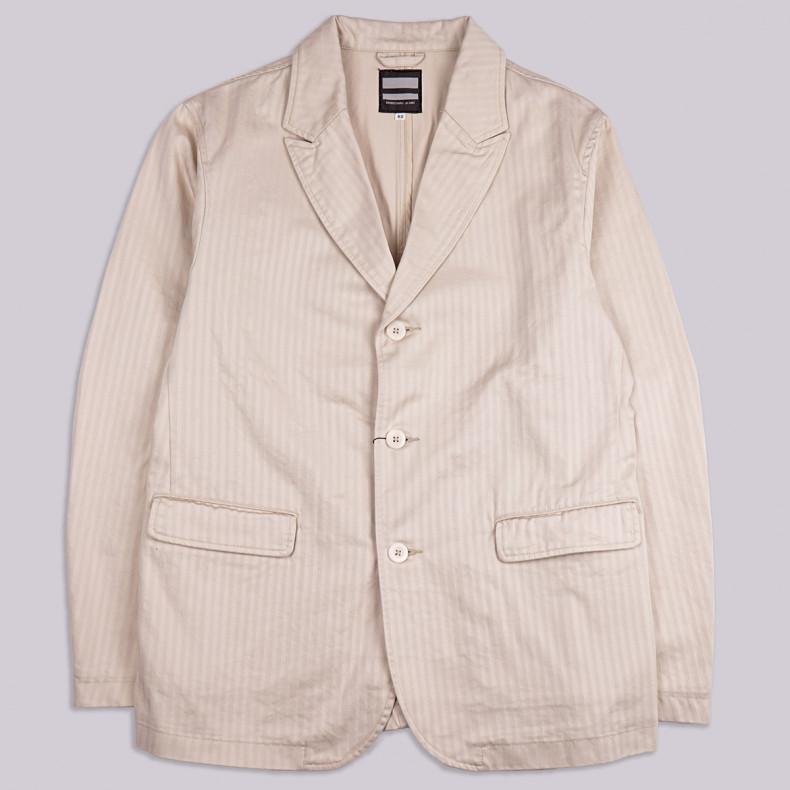 Пиджак Momotaro Jeans 3-140 Supima Jacket - Natural