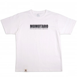 Футболка Momotaro Jeans 07-090 Going to Battle Momotaro Logo - White