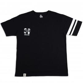 Футболка Momotaro Jeans07-092GTB Duel Black