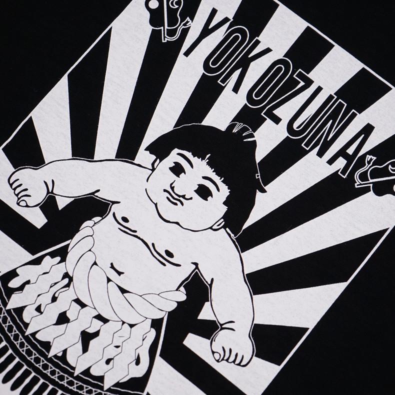 Футболка Momotaro Jeans 07-085 Yokozuna- Black