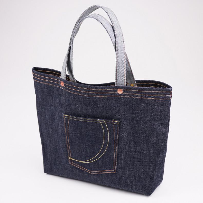 Сумка Momotaro Jeans B-10 Denim tote bag - Indigo