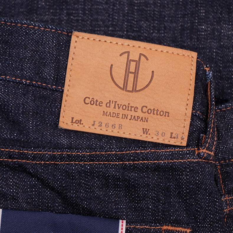 Джинсы Japan Blue Jeans J266B - L34 Tapered 16.5 oz Cote d'Ivoire Cotton Vintage Selvage (Monster) Button