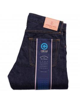 Джинсы Japan Blue Jeans J304 - L32 Straight 12.5 oz Africa Cotton Indigo One Wash Zipper