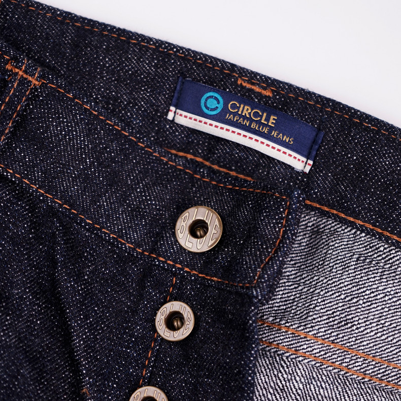 Джинсы Japan Blue Jeans J366B - L34 Straight 16.5 oz Cote d'Ivoire Cotton Vintage Selvage (Monster) Button