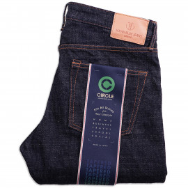 Джинсы Japan Blue Jeans J266 Tapered 16.5 oz Cote d'Ivoire Cotton Vintage Selvage (Monster) Zipper