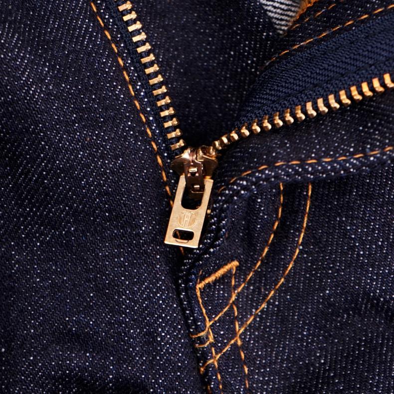 Джинсы Japan Blue Jeans J401 Classic Straight -L32 14.8 oz American Cotton Vintage Selvage Zipper