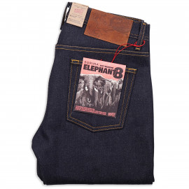 Джинсы Naked and Famous Weird Guy Elephant 8 Supima Soft 21 oz Selvedge