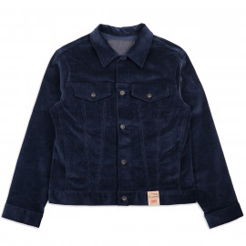 Куртка Naked and Famous Corduroy Denim Jacket Indigo