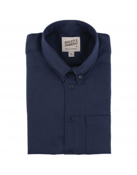 Рубашка Naked and Famous Easy Shirt Soft Twill Navy