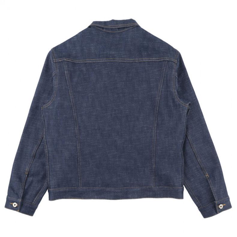 Джинсовка Naked and Famous Elephant 9 Denim Jacket 21 Oz Wild Blue SelvedgeRaw