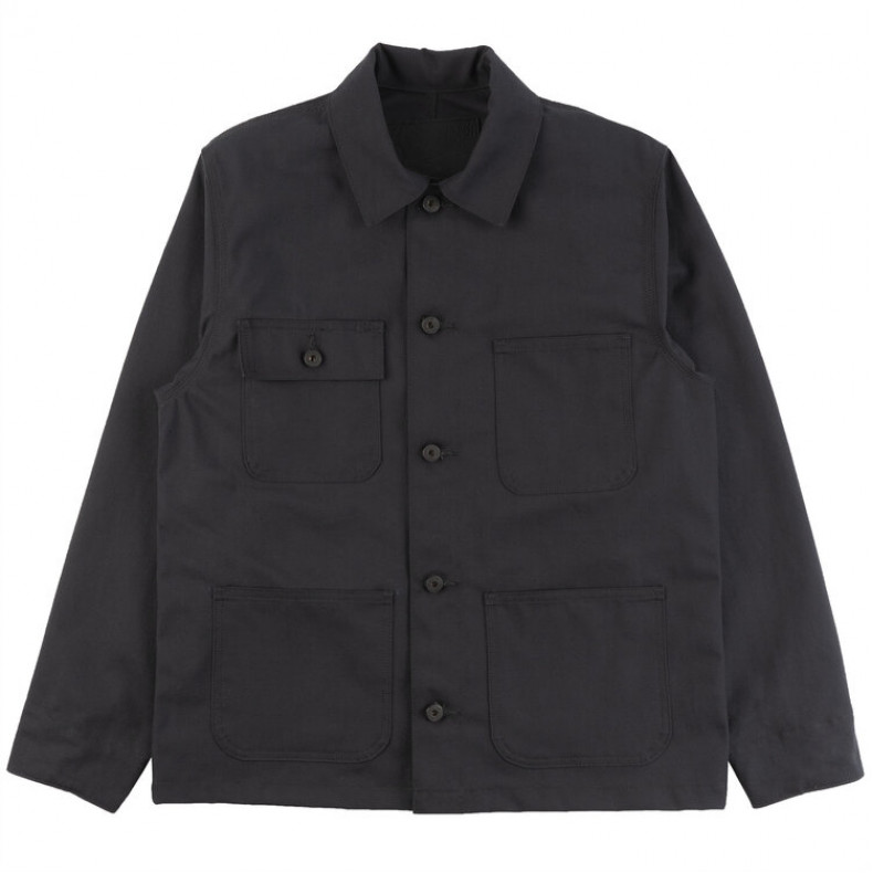 Куртка Naked and Famous Chore Coat 10 Oz Canvas Black
