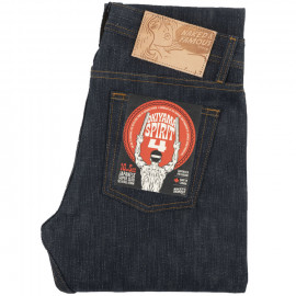 Джинсы Naked and Famous Weird Guy Okayama Spirit 4 Super Slub 16.5 Oz Indigo Selvedge Raw