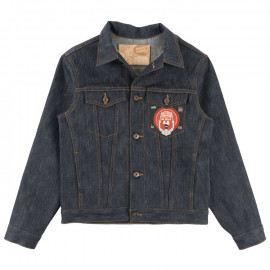 Джинсовка Naked and Famous Denim Jacket Okayama Spirit 4 Super Slub 16.5 Oz Indigo Selvedge Raw