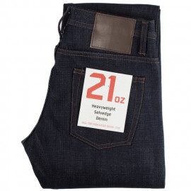Джинсы The Unbranded Brand UB321 Straight Fit - 21 Oz Indigo Selvedge Raw