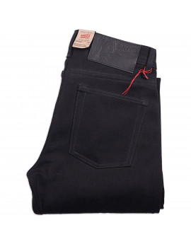 Джинсы Naked and Famous Weird Guy Solid Black 13 Oz Selvedge Raw