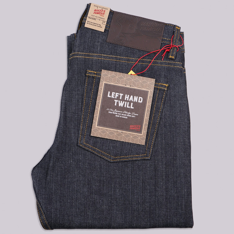 Джинсы Naked and Famous Weird Guy Left Hand Twill Selvedge