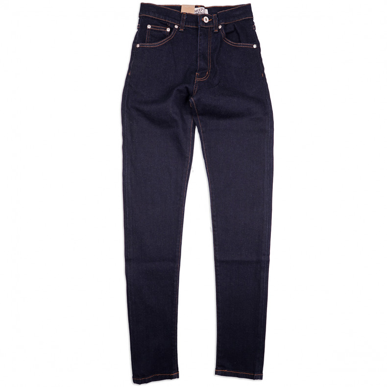Женские Джинсы Naked and Famous Max Active Motion 12oz Japanese Stretch Denim Washed