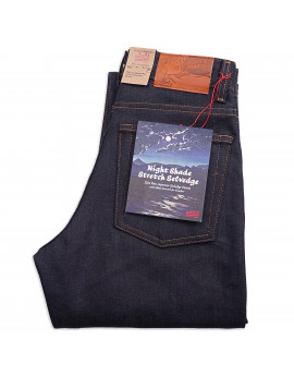 Женские Джинсы Naked аnd Famous Max fit Nightshade Stretch Selvedge 12 oz Raw