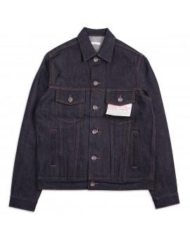 Джинсовка The Unbranded Brand UB901 Denim Jacket 14.5 Oz Indigo Selvedge Raw