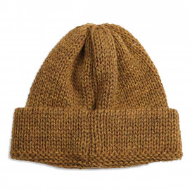Шапка Universal Works Short Watch Cap British Wool - Mustard