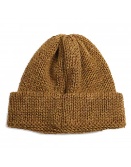 Шапка Universal Works Short Watch Cap British Wool - Mustard
