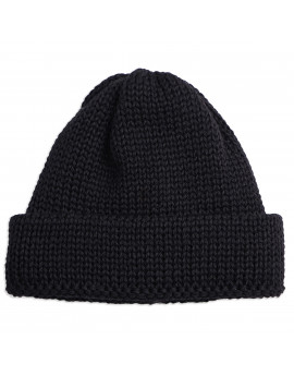 Шапка Universal Works Short Watch Cap British Wool -Black