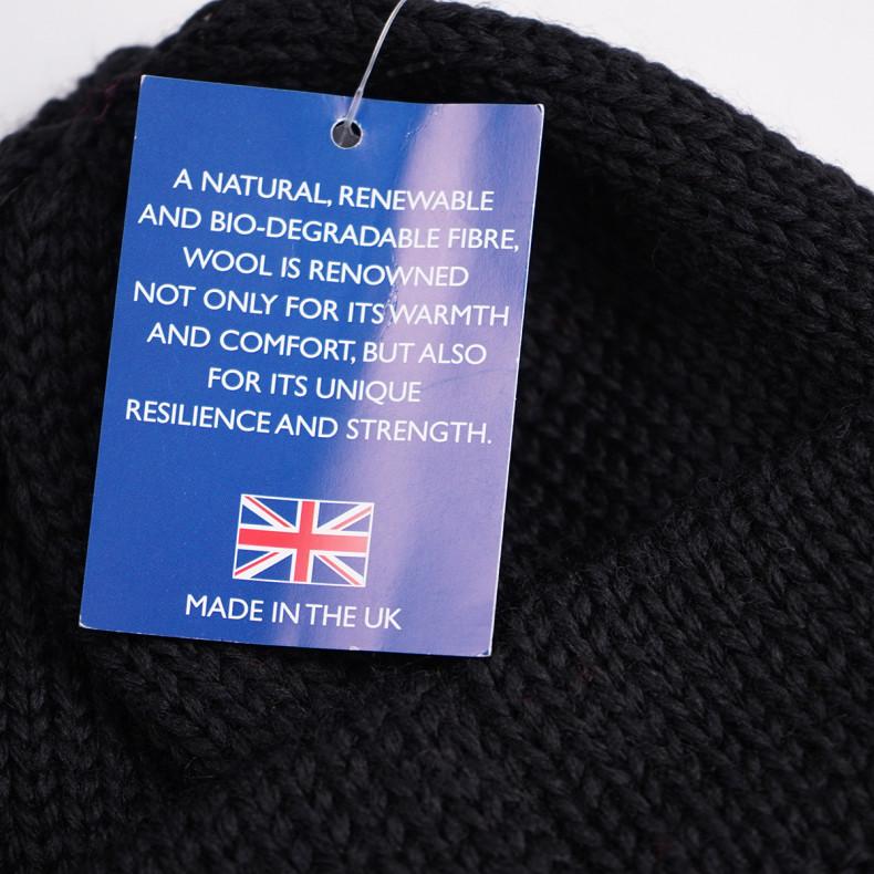 Шапка Universal Works Short Watch Cap British Wool -Black