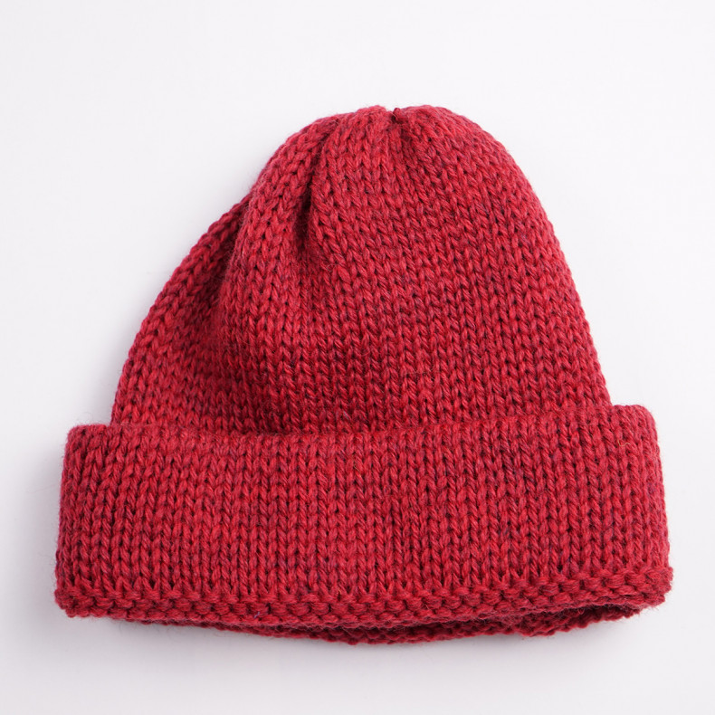 Шапка Universal Works Short Watch Cap British Wool - Red