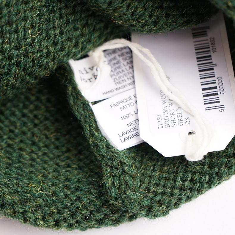 Шапка Universal Works Short Watch Cap British Wool - Green